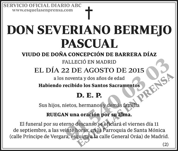 Severiano Bermejo Pascual